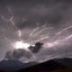 Tempesta di fulmini in Campania: immagini choc da Bagnoli