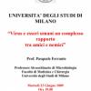 """4ª Conferenza Tematica 2009 """"I virus e l'uomo: nemici ed amici"""