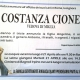 Costanza Cione, vedova Di Miglia (Roma)