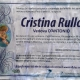 Cristina Rullo, vedova D'Antonio