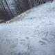 Benvenuto inverno: prima neve sul Laceno a quota 1667