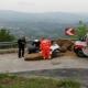 Giro d'Italia in Irpinia: incidente tra Laceno e Lioni