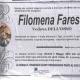 Filomena Farese, vedova Dell'Osso
