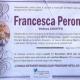 Francesca Perone, vedova Chieffo