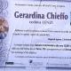 Gerardina Chieffo, vedova Lenzi