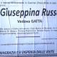 Giuseppina Russo, vedova Gatta (Cascina - Pisa)
