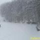 Nevica intensamente in montagna, piste aperte al Laceno