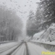 Auto diretta al Laceno bloccata dalla neve, a bordo anche una bimba