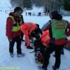 Laceno, infortunio sulla neve. Pronto intervento del CNSAS