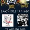 Festa dei giovani a Bagnoli- Sabato 28 agosto in Piazza Rosselli