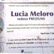Lucia Meloro, vedova Preziuso