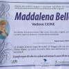 Maddalena Bello, vedova Cione