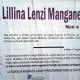 Lillina Lenzi, vedova Manganelli