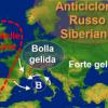 La Siberia affossa il centro Italia di neve, e al sud?