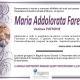 Maria Addolorata Farese, vedova Patrone