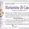 Marianna Di Capua, vedova Pasquale