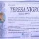 Teresa Nigro, vedova Gatta (Ponsacco - Pisa)