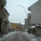 Nevicata a Bagnoli del 20 marzo 2009 - Via Gramsci