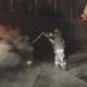 Auto in fiamme, paura nella notte a Bagnoli Irpino