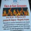 Bagnoli Irpino: domenica 19 marzo i falò di San Giuseppe