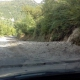 Il maltempo ha causato una frana sulla strada Bagnoli-Acerno
