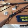 Bracconieri a caccia di specie animali rare: sequestrati 3 fucili