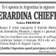 Gerardina Chieffo, vedova Preziuso (Argentina)