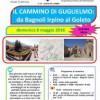 L' 8 maggio il cammino di GUGLIELMO: da Bagnoli al Goleto
