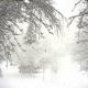 Nevica sulle colline dell'Alta Irpinia. Bagnoli