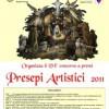Presepi artistici 2011 – VIº concorso a Bagnoli Irpino