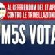 Referendum, a Bagnoli banchetto informativo per il Sì del M5S