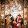 Un quadro di Marco Pino da Siena a Bagnoli Irpino