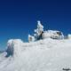 Cima del Monte Cervialto dopo le storiche nevicate