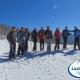 Inaugurata la pista di fondo sulla vetta del Monte Raiamagra