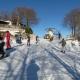 Neve sulla Pasquetta, il Laceno teme per il Giro