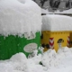 Neve, strade ghiacciate: si blocca la raccolta rifiuti
