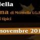 Il 5 e 6 novembre a Montella la Sagra della
