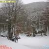 Maltempo, prima neve al Laceno