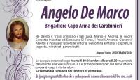 Angelo De Marco (Brigadiere Capo Arma dei Carabinieri)
