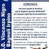 A.s.d. Vincenzo Nigro, campagna di tesseramento 2016-2017