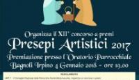 """Bagnoli Irpino: Concorso a premi """"Presepi Artistici 2017"""""""