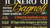 """Il """"nero"""" di Bagnoli – La 38esima Sagra della Castagna e del Tartufo"""