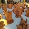 """Laboratorio """"Vacca di Fuoco"""", ritiro dei modellini in argilla presso l'Ufficio Turistico"""