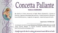 Concetta Pallante, vedova Gargano
