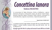 Concettina Ianora, vedova Nicastro