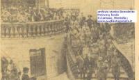 Manovre militari e Principe Umberto di Savoia a Bagnoli Irpino e a Montella