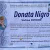 Donata Nigro, vedova Patrone
