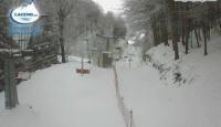 Laceno, piste di nuovo aperte: un metro di neve in vetta