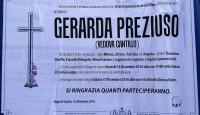 Gerarda Preziuso, vedova Cantillo