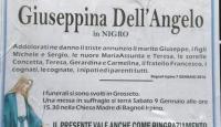 Giuseppina Dell'Angelo in Nigro (Grosseto)